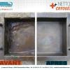 Nettoyage Cryogénique Bac avant / après