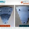 Nettoyage Cryogénique - Empreinte - CRYO'TECH - Avant-Après