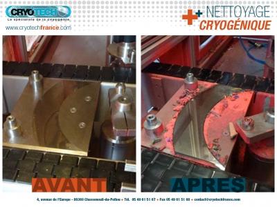 Nettoyage Cryogénique ligne conditionnement de spray de peinture 2