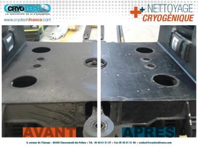 Nettoyage Cryogénique métro automatisé