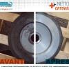 Nettoyage Cryogénique - Poulie - CRYO'TECH - Avant-Après