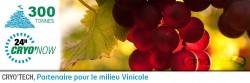 Glace carbonique pour milieu vinicole grand ouest 2016 carboglace