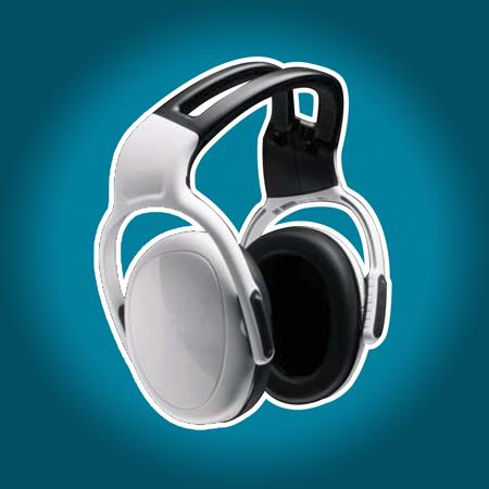 Casque anti bruit 33 0 db blanc cryo 39 tech for Meilleur casque anti bruit passif