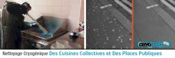 Nettoyage places publiques et cuisines collectives CRYO'TECH