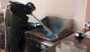 nettoyage Cryogénique de cuisine par Cryo'tech