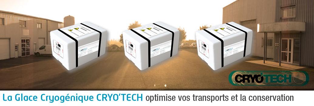 Utilisation de la Glace Cryogénique : Transport / Conservation