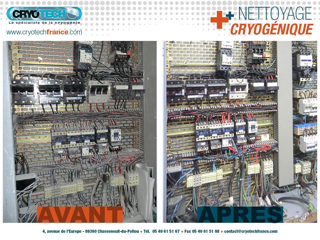 Nettoyage_cryogenique_armoire_électrique_2_CRYO'TECH_SEPEM industries