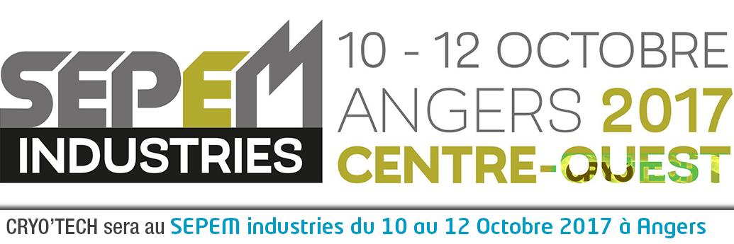 Salon du SEPEM à Angers du 10 au 12 Octobre 2017