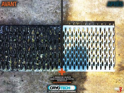 Nettoyage cryogénique Amalgame-de-cire-résine-colorants 1 CRYO'TECH