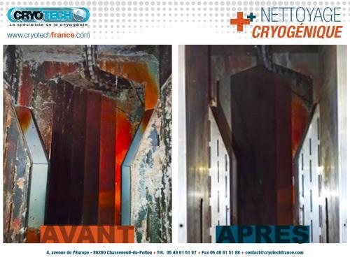 Nettoyage cryogenique ligne de sechage & nettoyage industriel de vetements 1 - CRYO'TECH