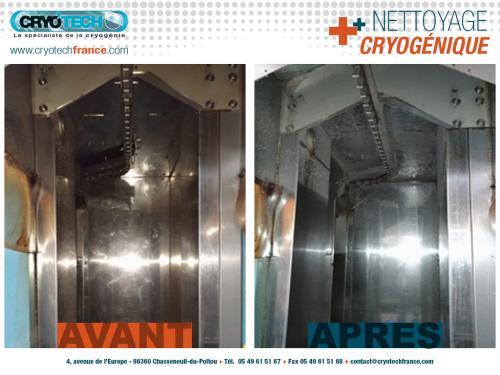 Nettoyage cryogenique ligne de sechage  nettoyage industriel de vetements 2 - CRYO'TECH