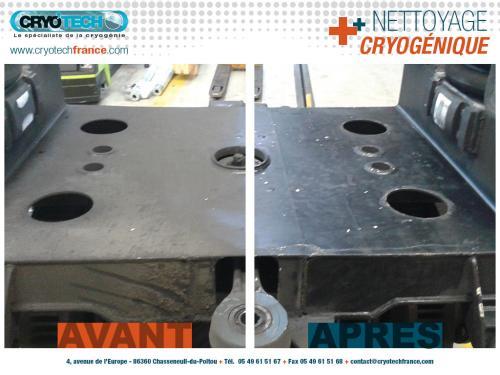 Nettoyage cryogenique métro automatisé-CRYOTECH