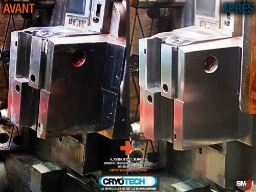 Nettoyage cryogénique moule injection plastique - CRYOTECH
